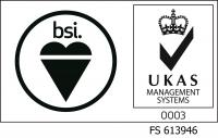 BSI and UKAS Logo
