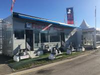 Display Trailer at Southampton Boat Show 2017